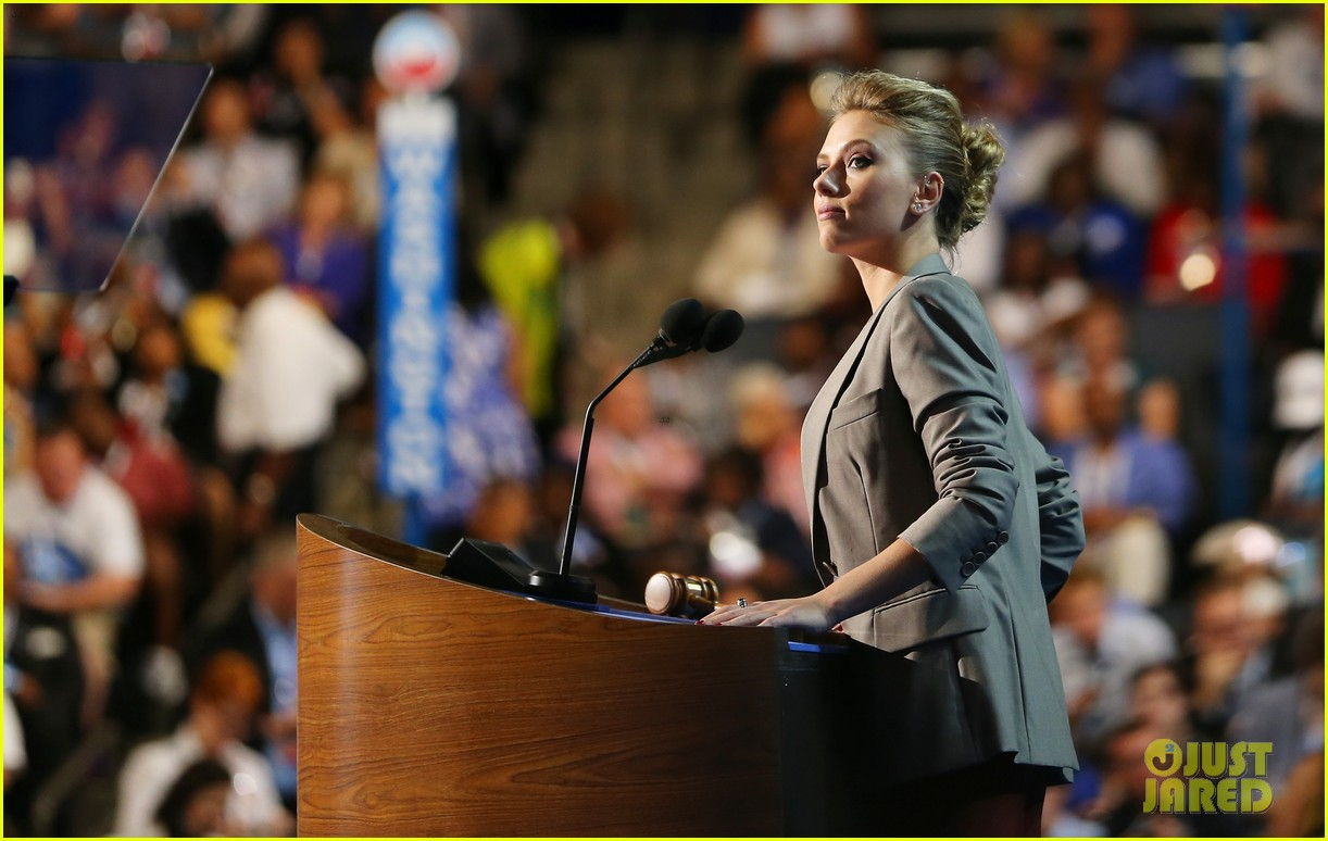 scarlett johansson speech democratic national convention 23