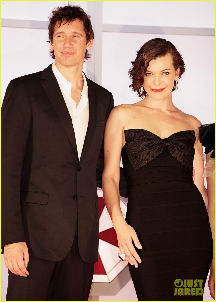 milla jovovich resident evil retribution japan premiere 22