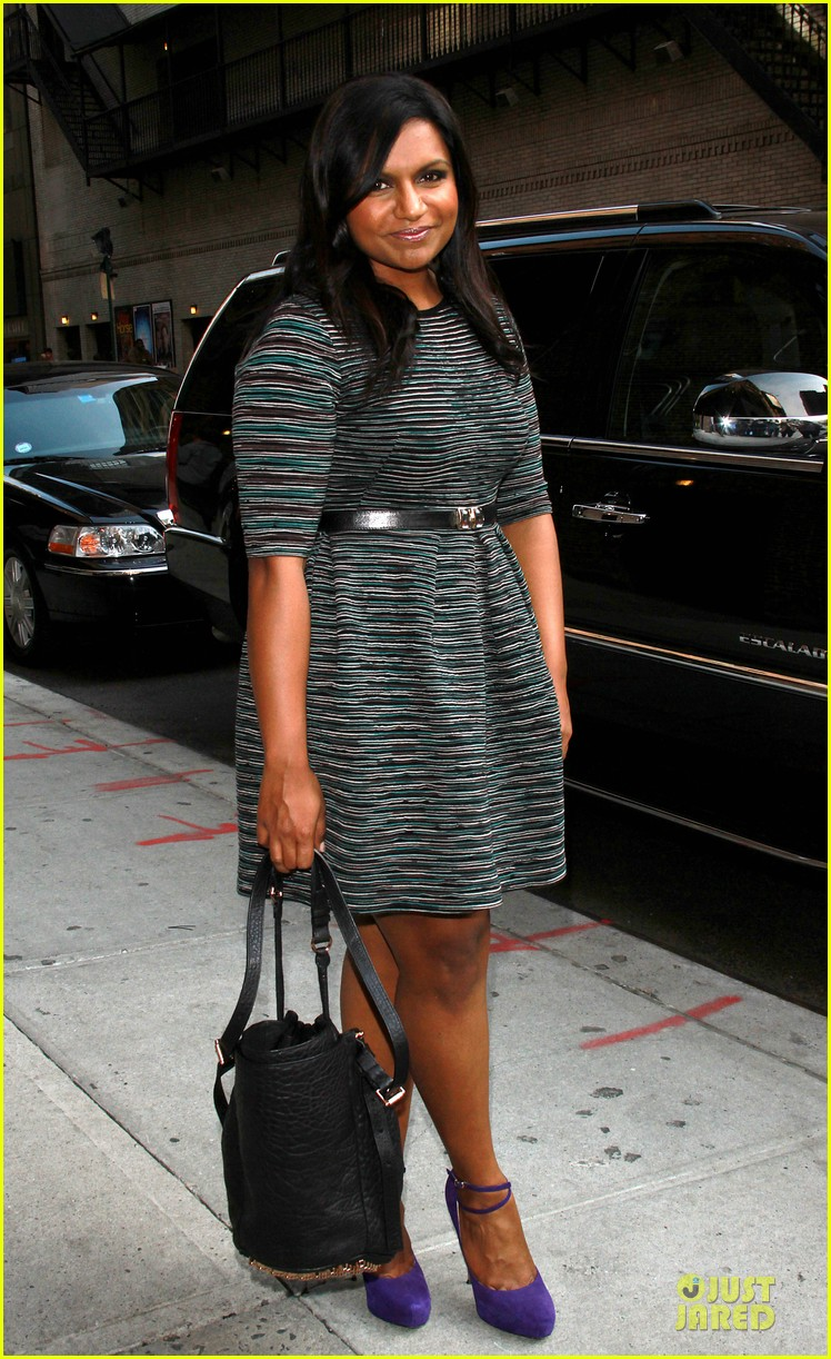mindy kaling joseph gordon levitt late show with david letterman 03