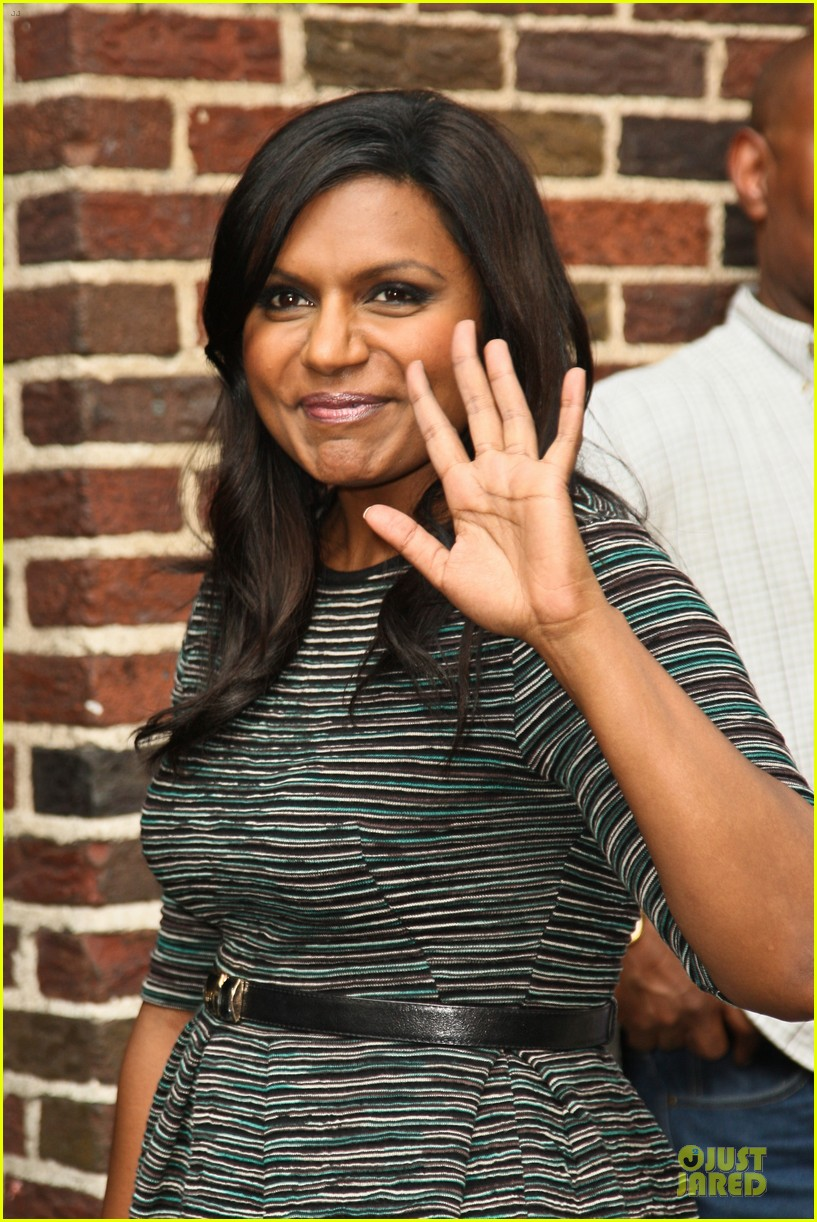 mindy kaling joseph gordon levitt late show with david letterman 26
