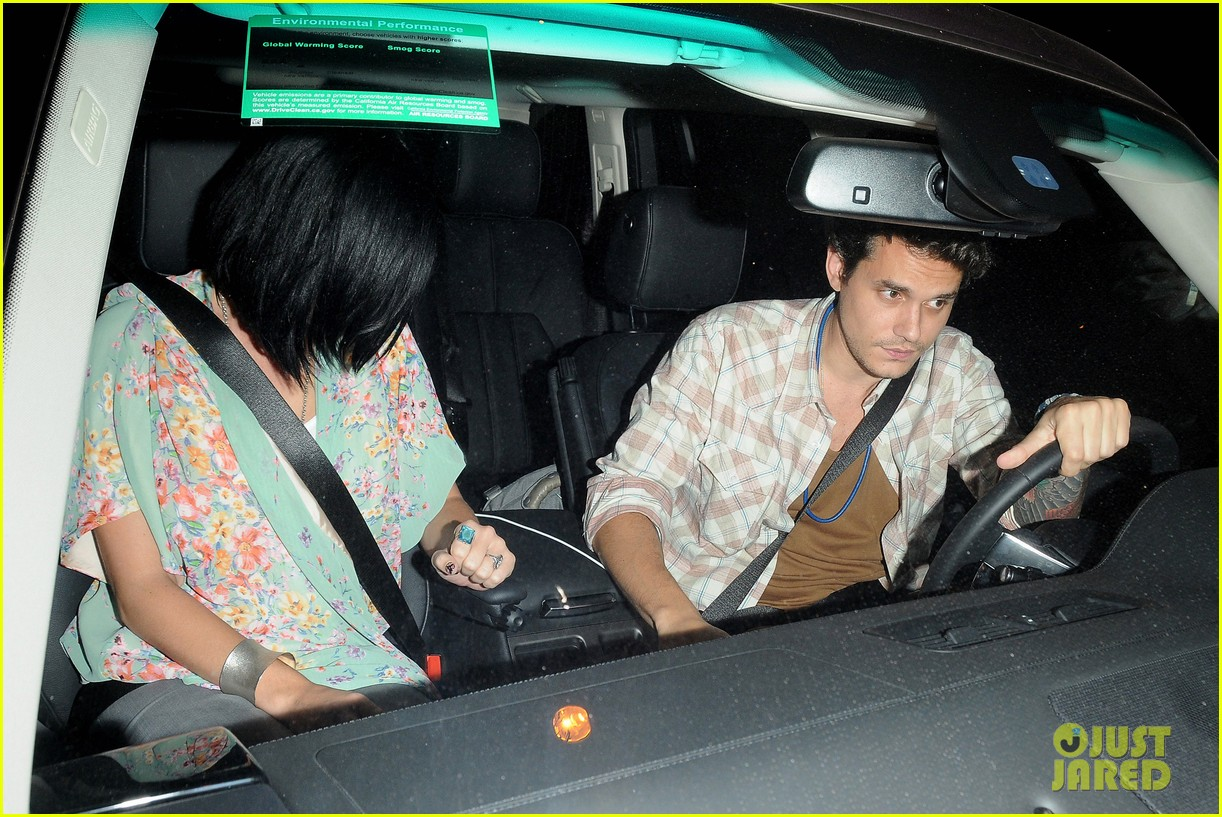 katy perry john mayer little door restaurant 022714361
