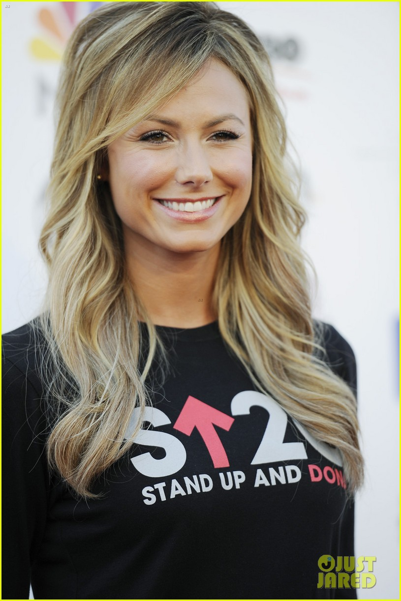 stacy keibler minka kelly stand up to cancer telecast 02