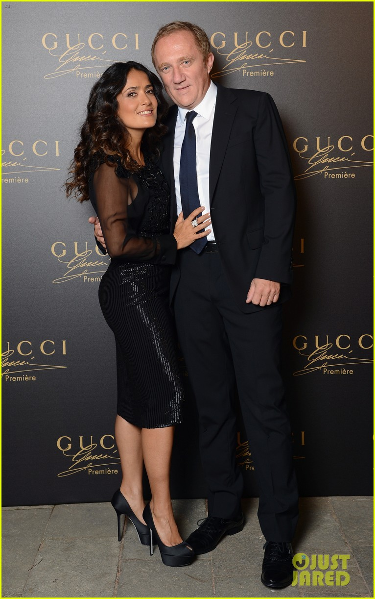 blake lively gucci premiere launch with salma hayek 032712689