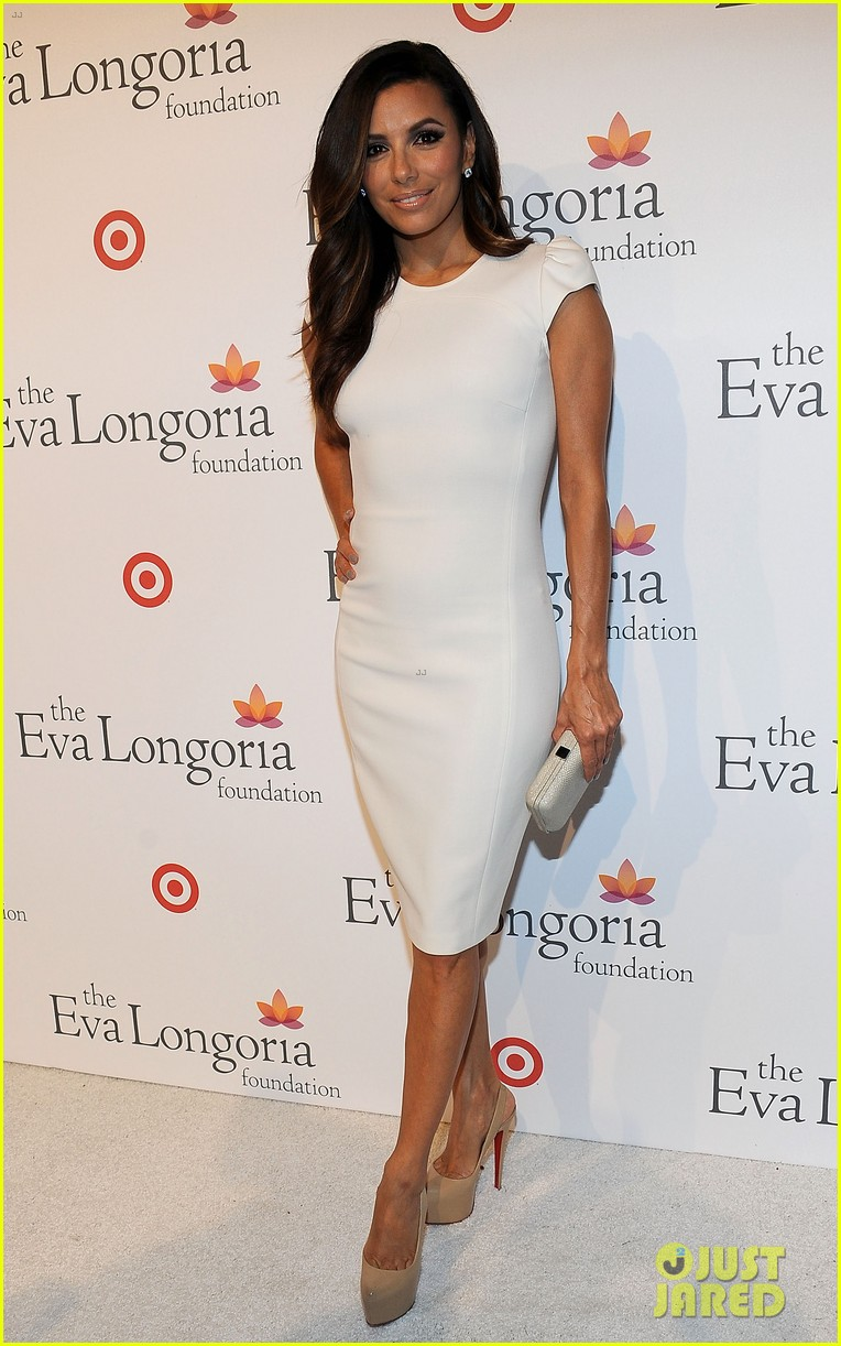 eva longoria pre alma awards charity dinner 20