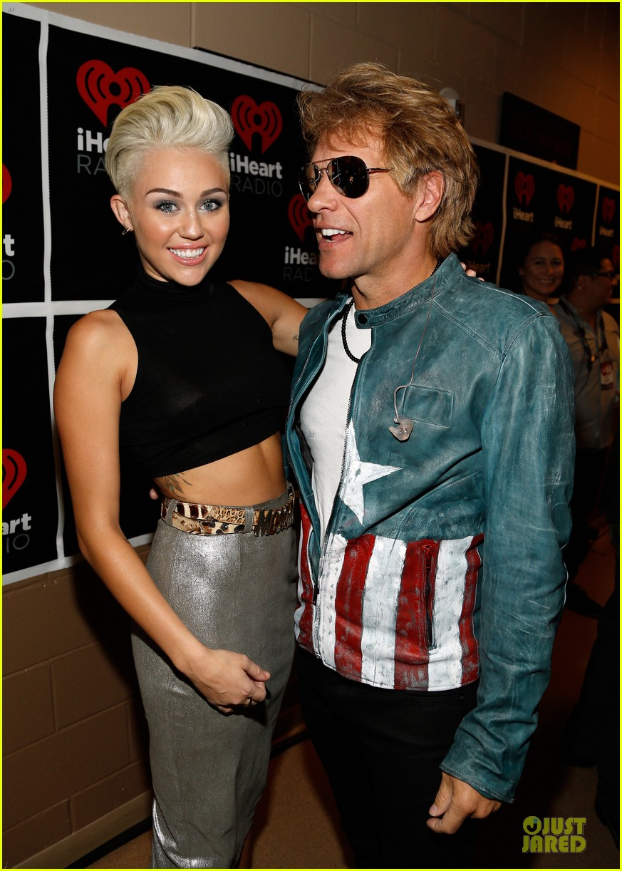 miley cyrus bon jovi rock iheartradio duo 082726054