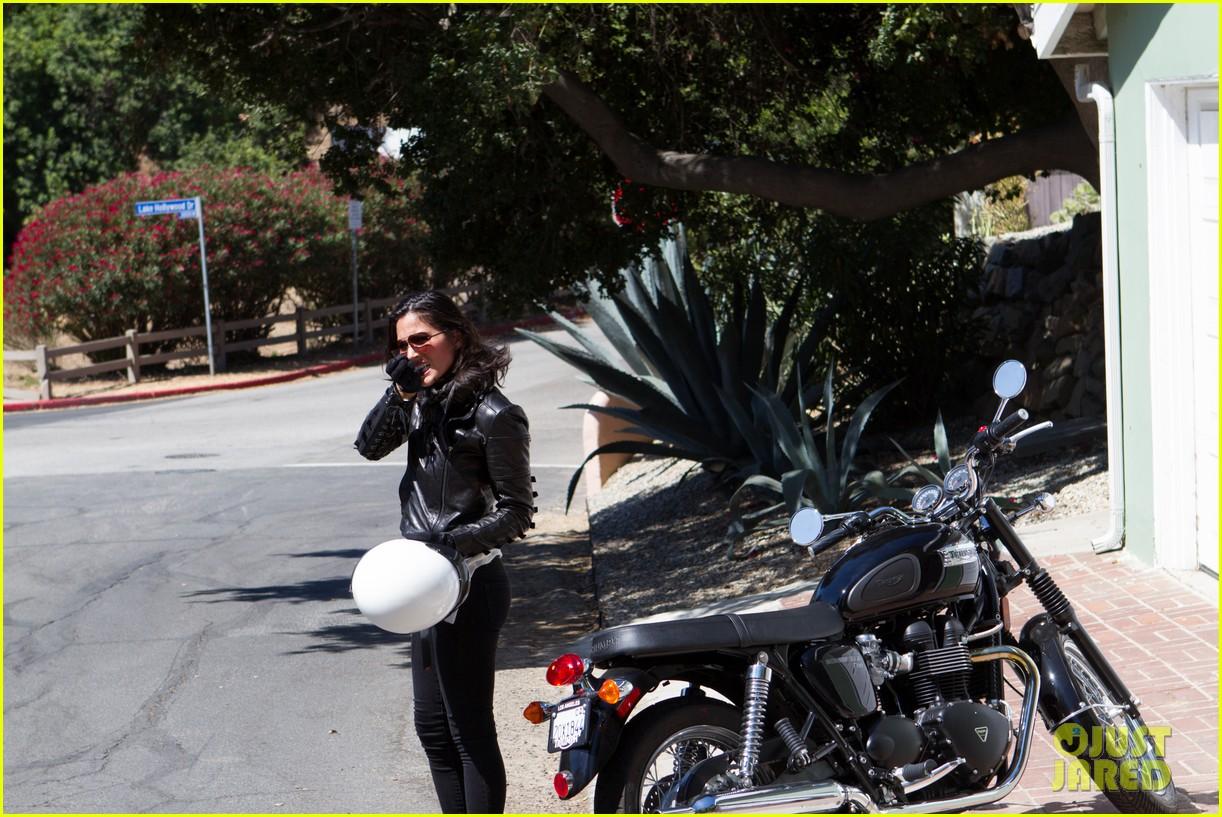olivia munn biker babe 092717639