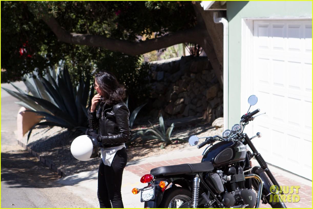 olivia munn biker babe 122717642
