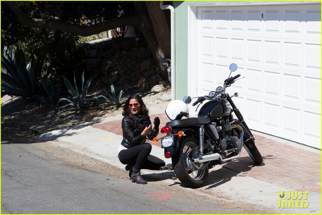 olivia munn biker babe 132717643