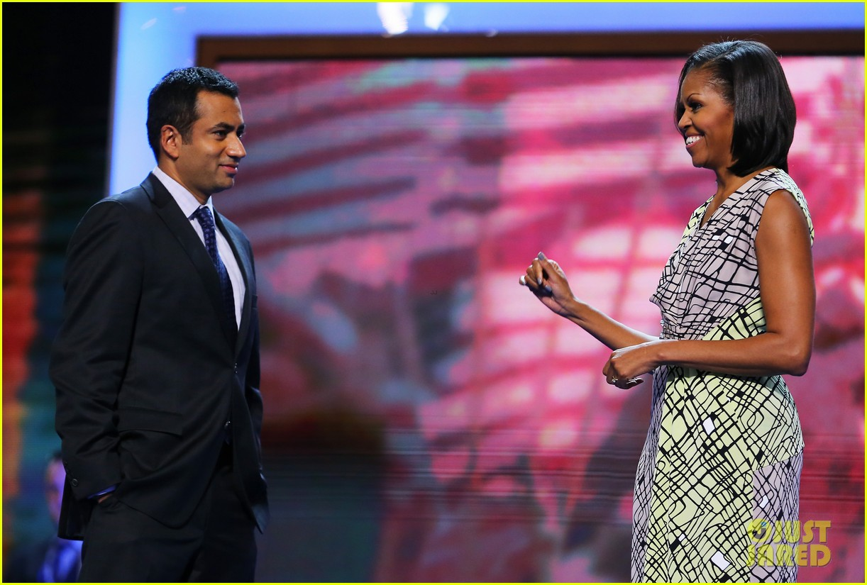 michelle obama preps democratic national convention in charlotte kal penn 11