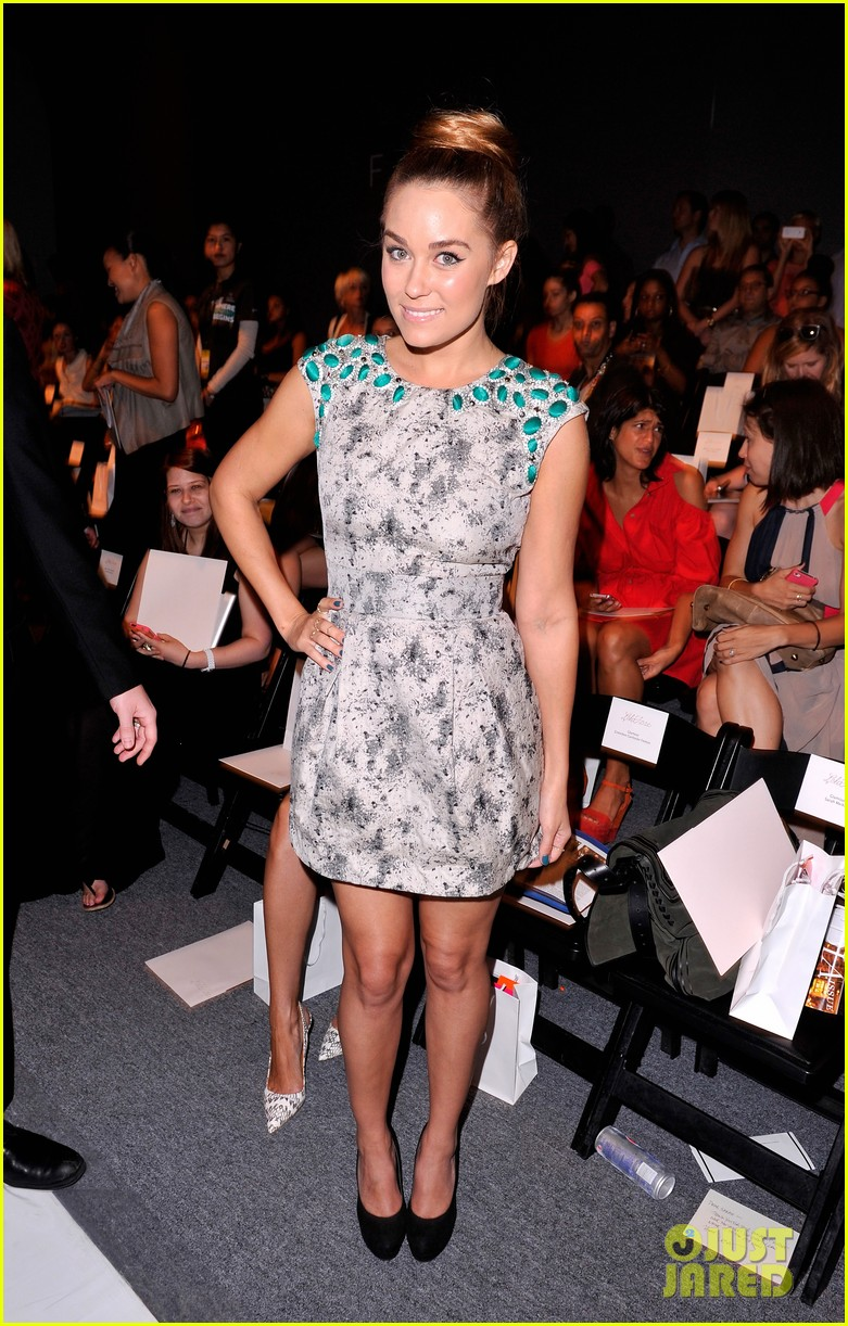 odette annable lauren conrad fashion week fierce 03