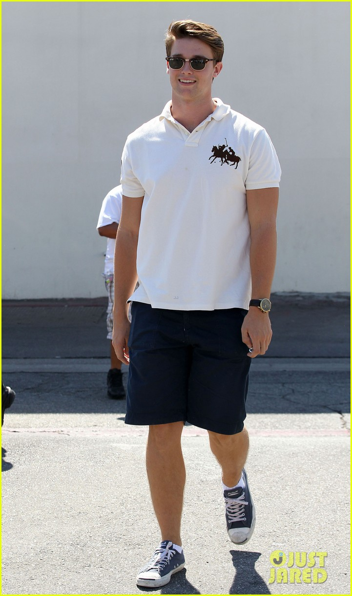 patrick schwarzenegger lunch with dad sylvester stallone 11