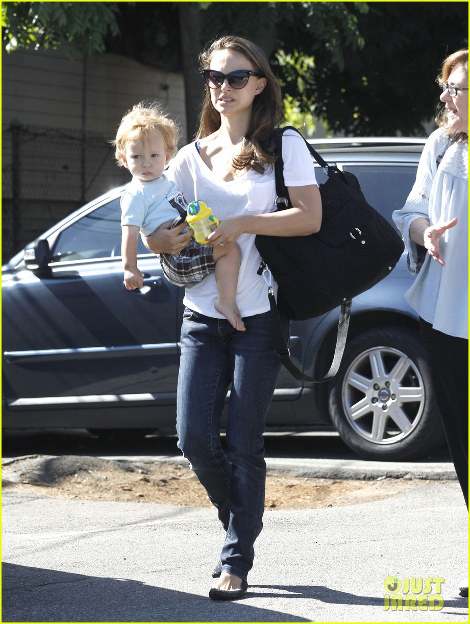 natalie portman quality time with aleph 16