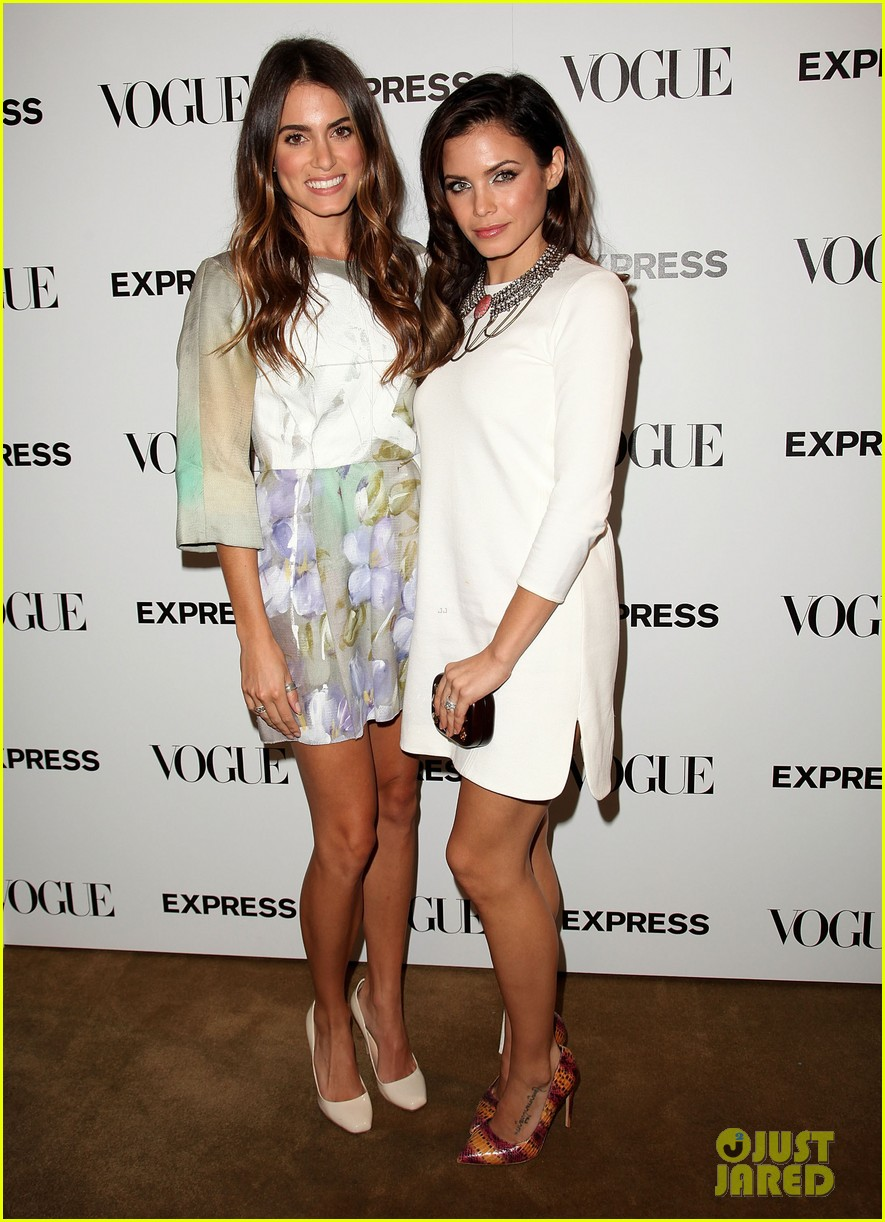 nikki reed jenna dewan vogue scenemakers party 01