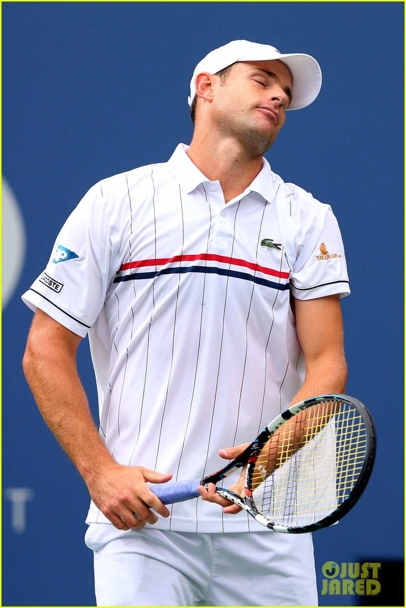 andy roddick plays final tennis match brooklyn decker cries 17