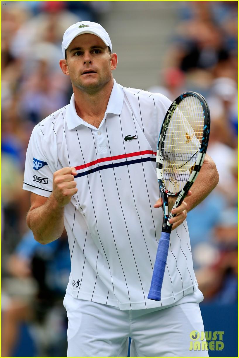 Andy Roddick Plays Final Tennis Match Brooklyn Decker Cries