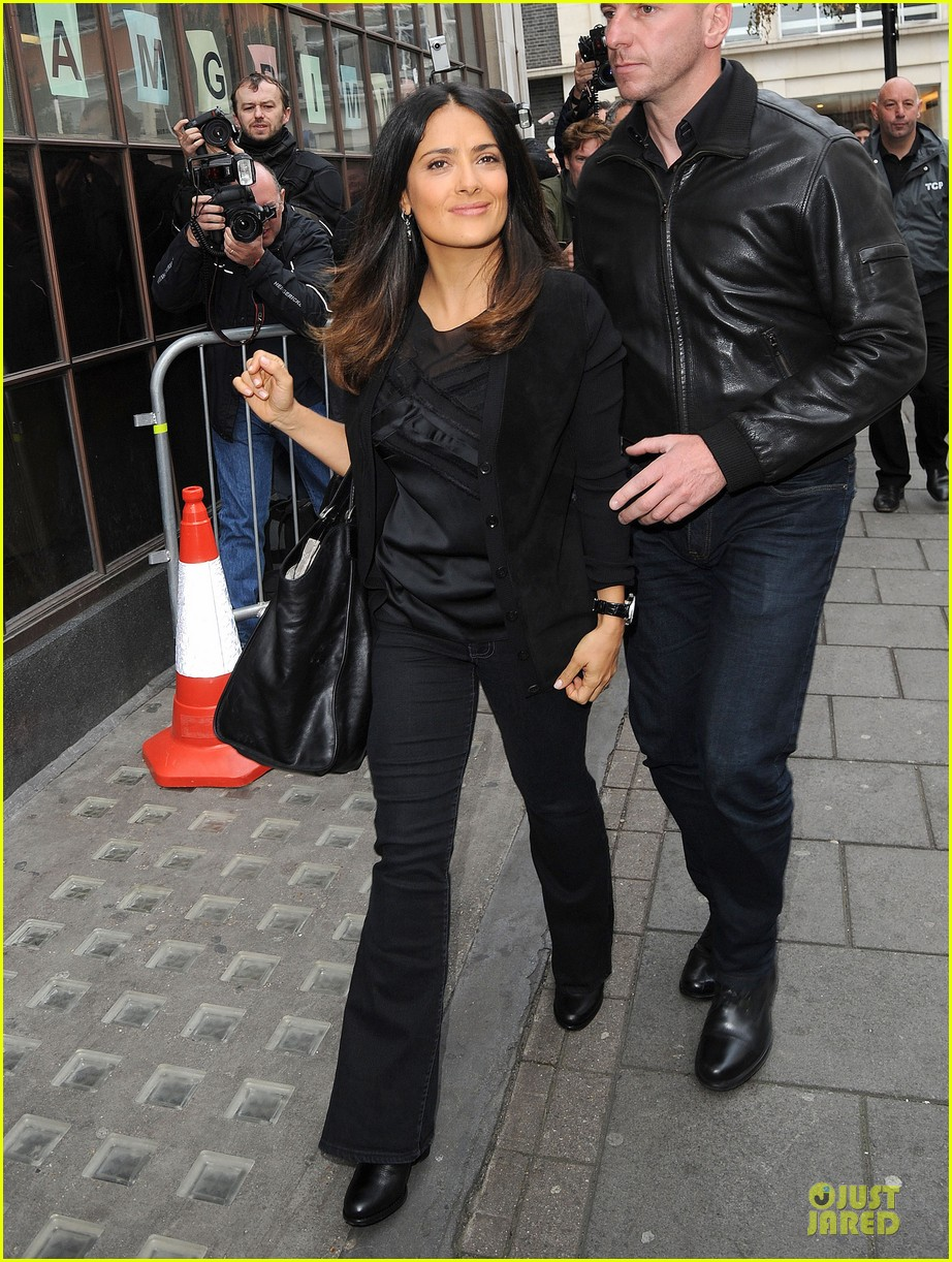 salma hayek savages bbc radio one promotion 012725529
