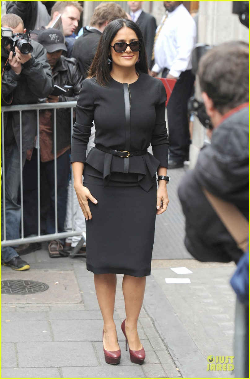 salma hayek savages bbc radio one promotion 032725531
