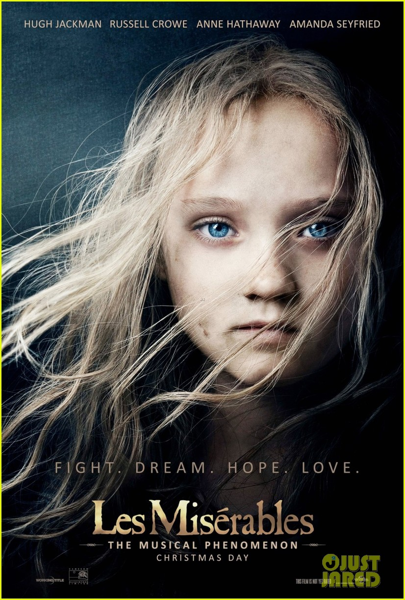 amanda seyfried new les miserables poster 01