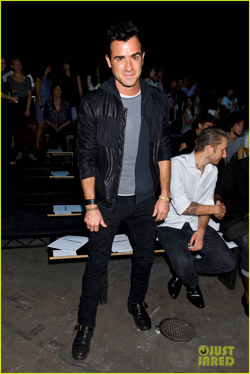 justin theroux alexander wang fashion show 052717497