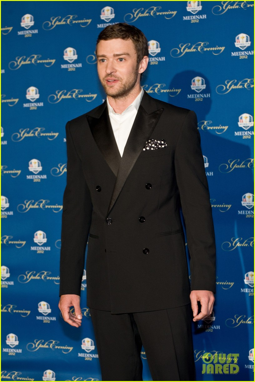 justin timberlake ryder cup gala with tiger woods 08
