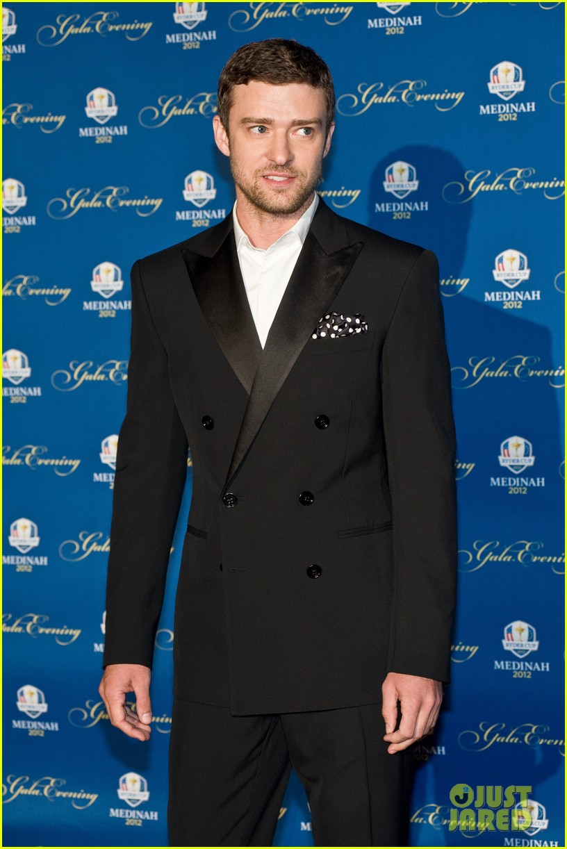 justin timberlake ryder cup gala with tiger woods 12