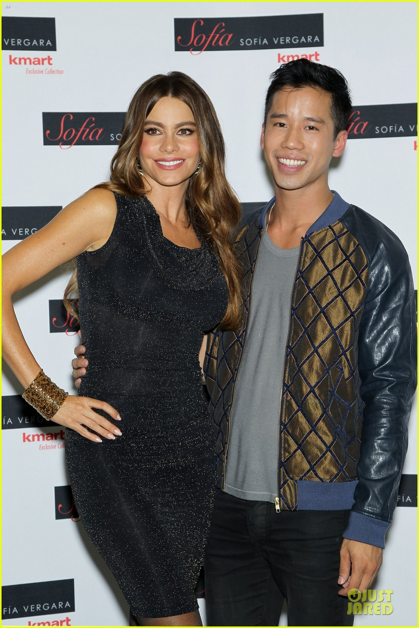 sofia vergara kmart fall collection launch 04