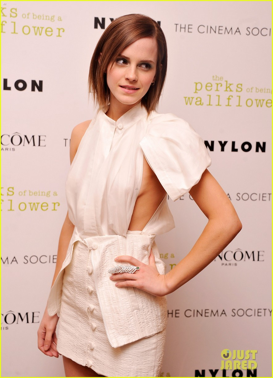 Emma Watson Premiere The Perks Being Wallflower