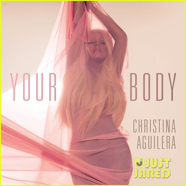 christina aguilera your body cover art 01