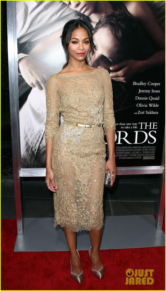 Zoe Saldana: 'The Word... Zoe Saldana