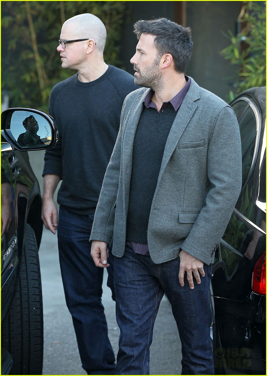 ben affleck matt damon business meeting buddies 032744486
