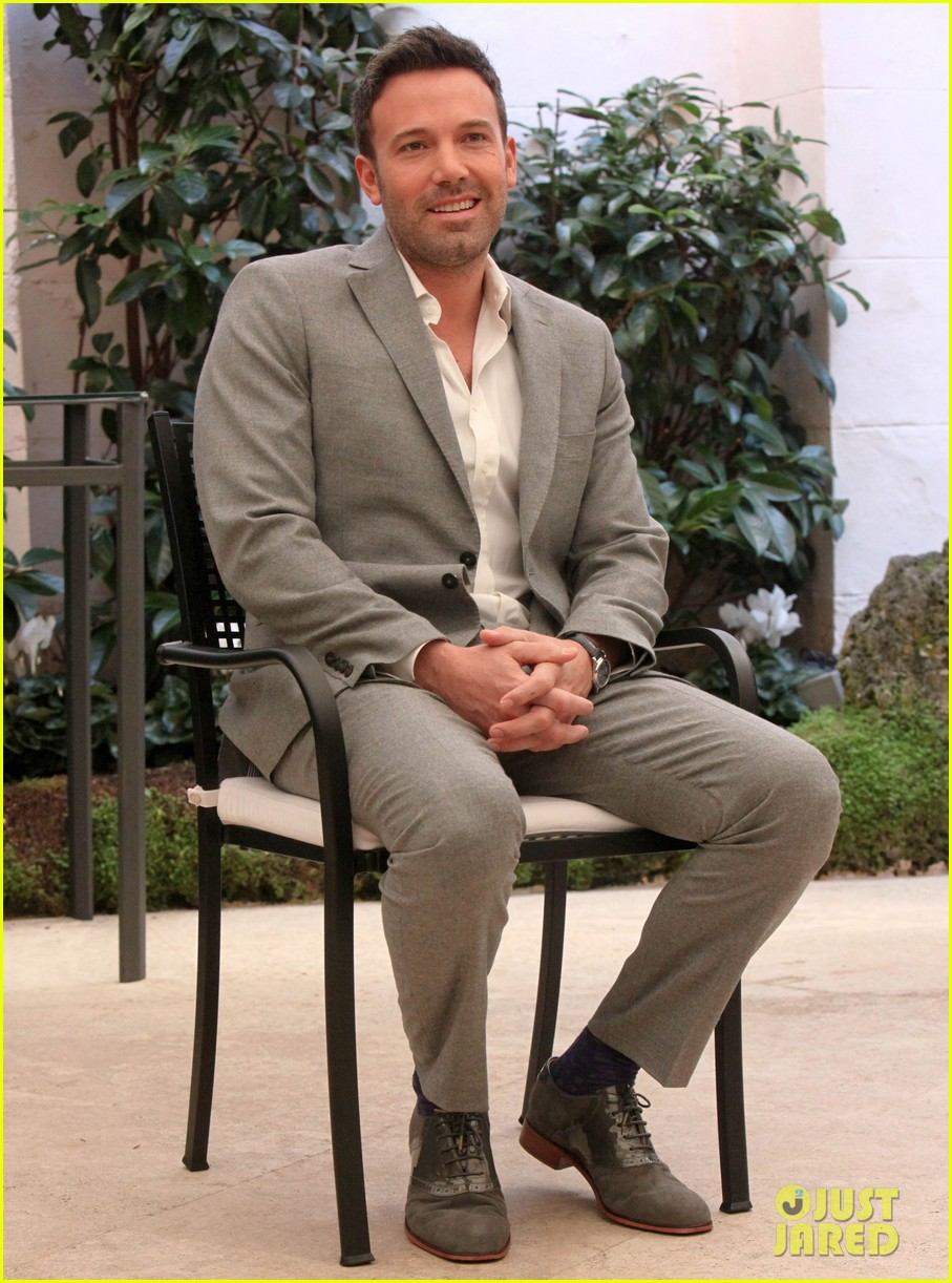 ben affleck argo rome photo call 05