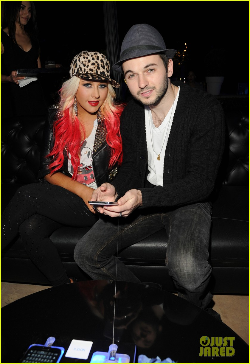 christina aguilera matthew rutler samsung galaxy launch 052745460