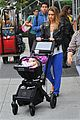 jessica alba big apple outing with haven 12