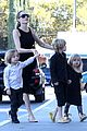 angelina jolie halloween shopping with the kids 12