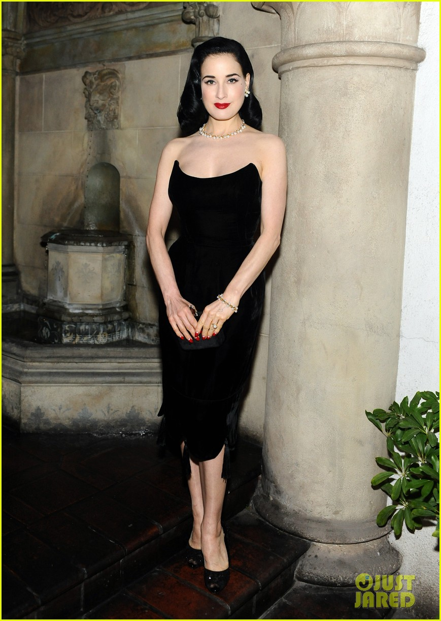 dita von teese ashley madekwe decades century of fashion book launch party 01