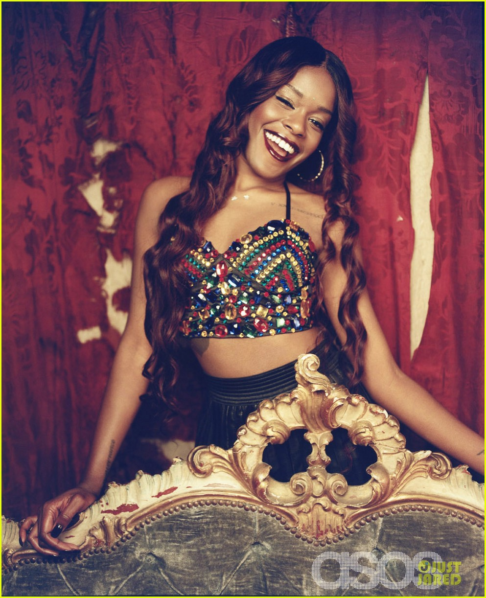 azealia banks holiday fashion campaign 02