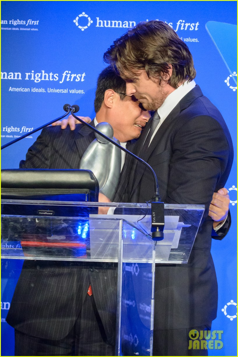 christian bale human rights award dinner 03
