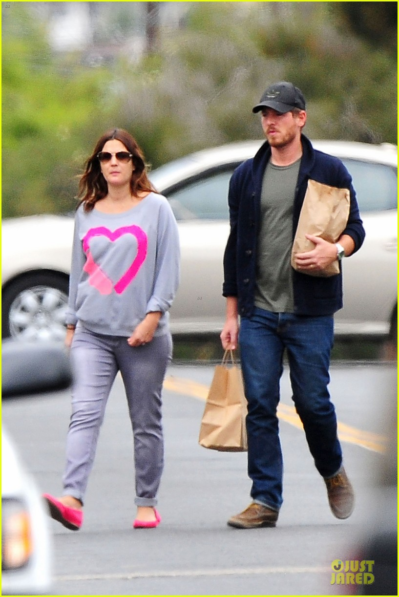 drew barrymore will kopelman post baby lunch 33