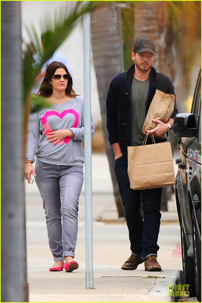 drew barrymore will kopelman post baby lunch 402742441