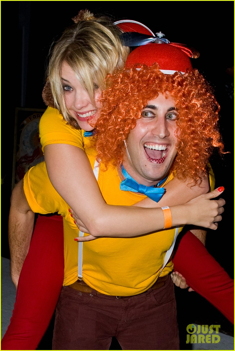 Ashley Benson & Chord Overstreet - Just Jared Halloween Party 2012 ...