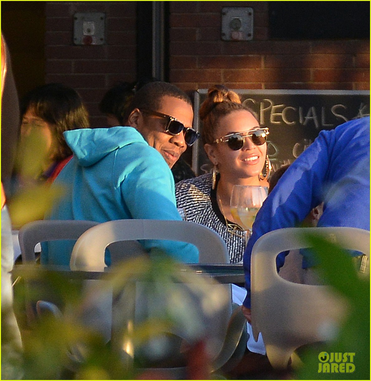 beyonce battery park dinner date with jay z 042741750