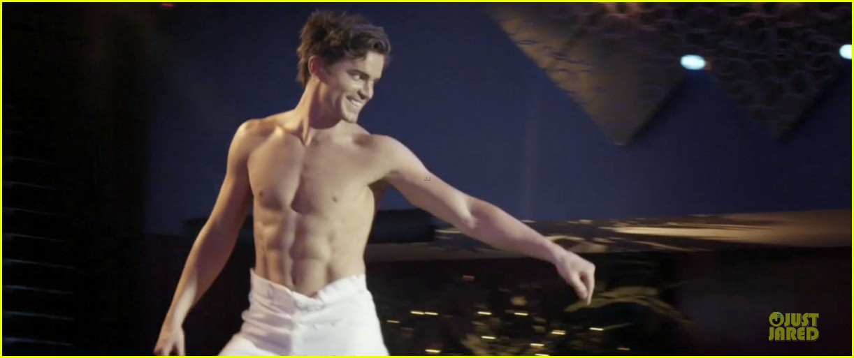 matt bomer magic mike ken doll striptease 01
