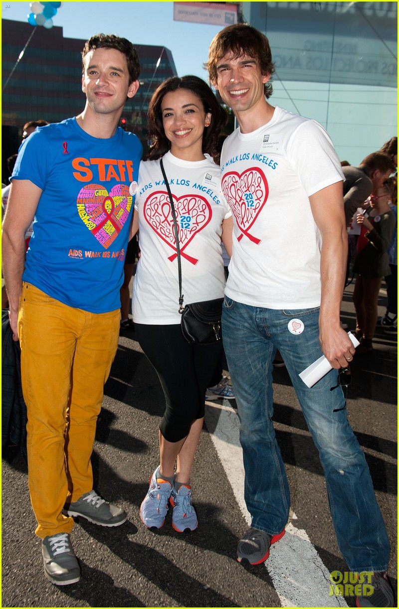 sophia bush christa b allen aids walk 09