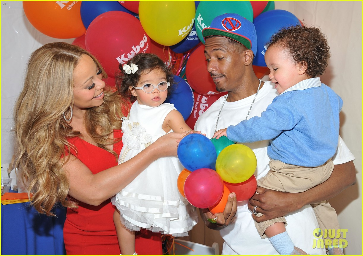 mariah carey nick cannon family day with dem babies 02