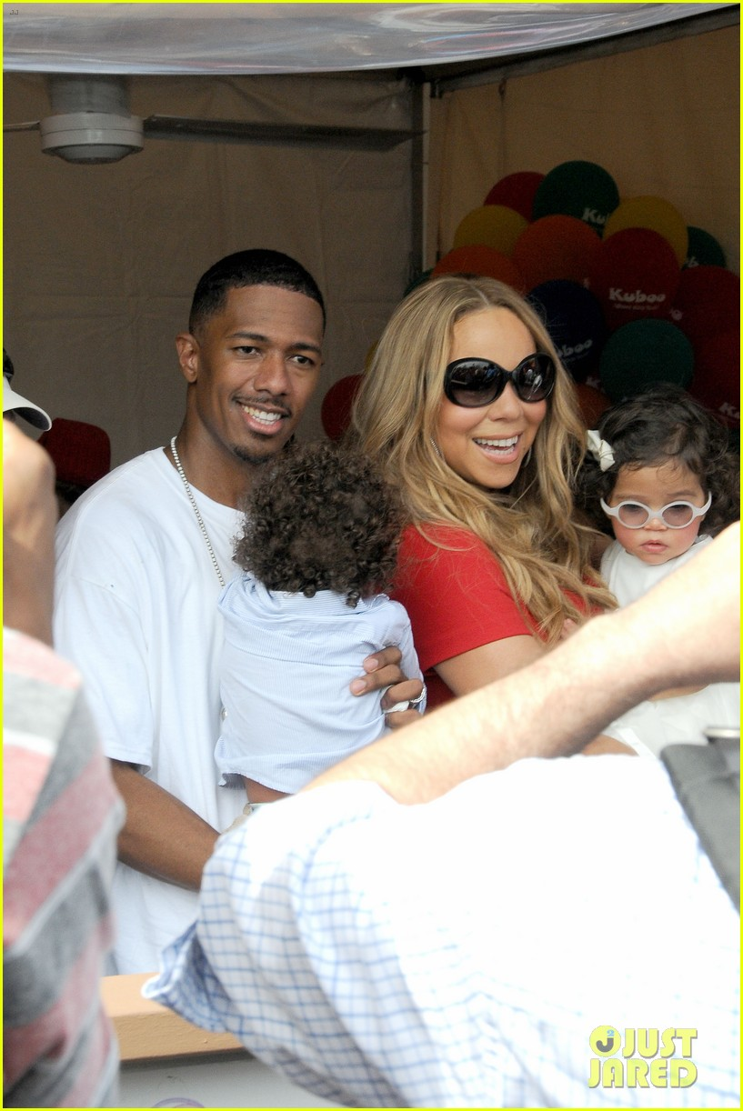 mariah carey nick cannon family day with dem babies 10