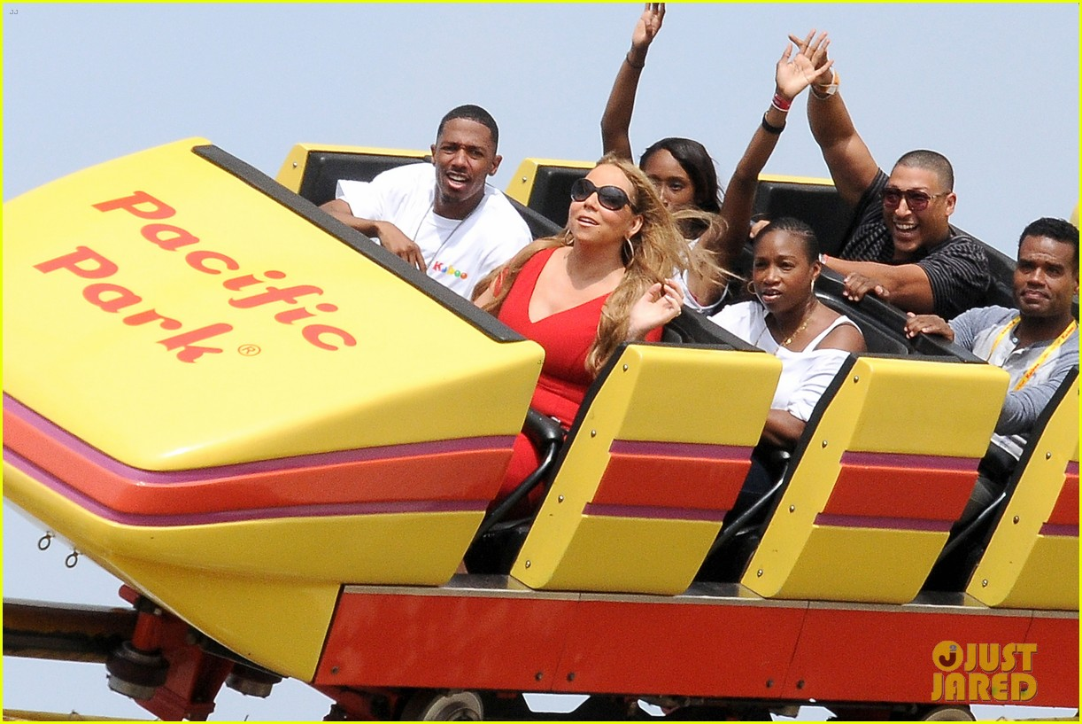 mariah carey nick cannon family day with dem babies 172734171