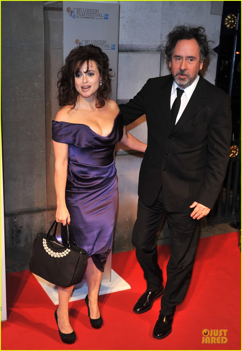 helena bonham carter tim burton bfi london film festival awards 01
