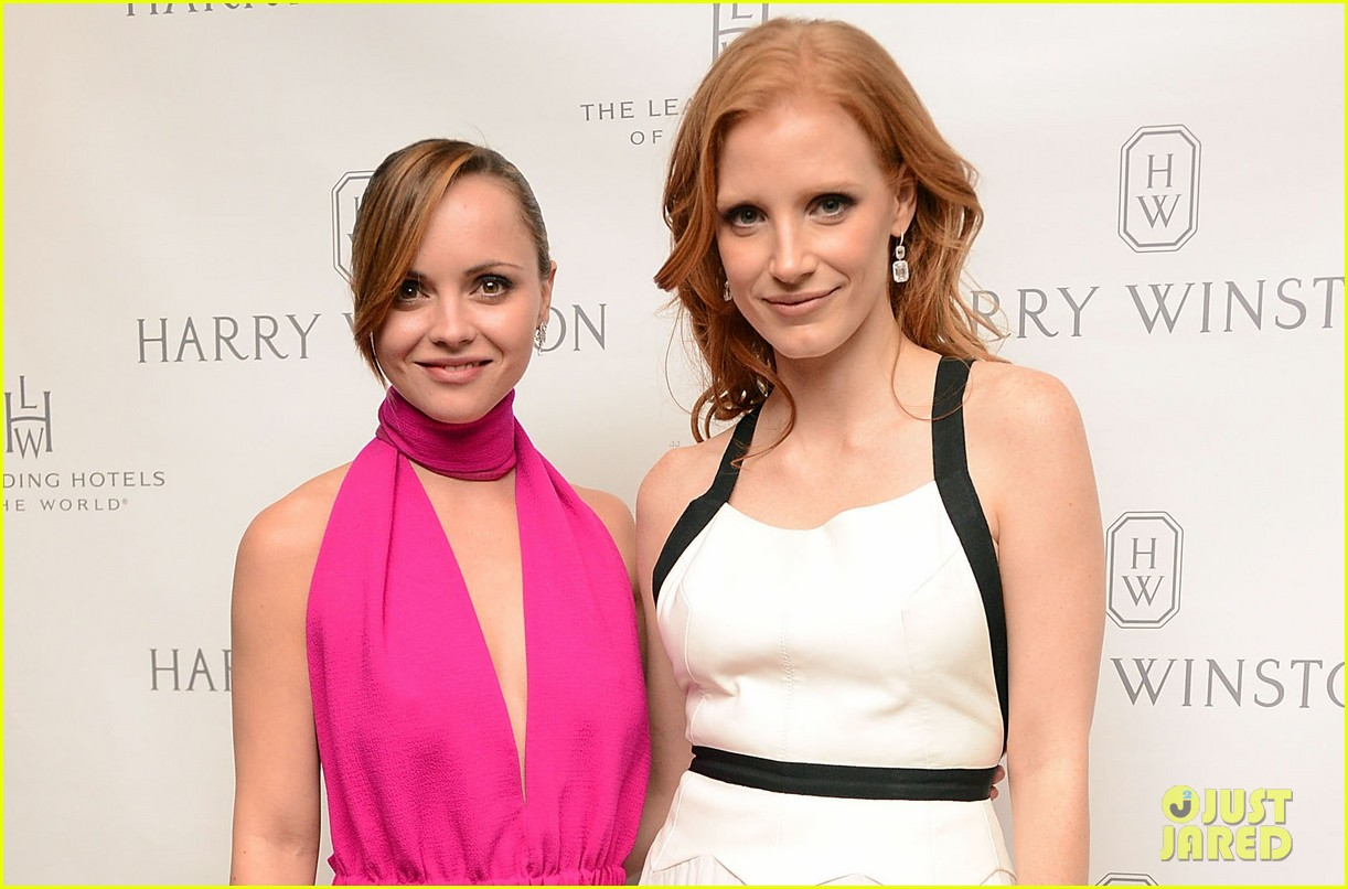 jessica chastain harry winston dinner honoree 03