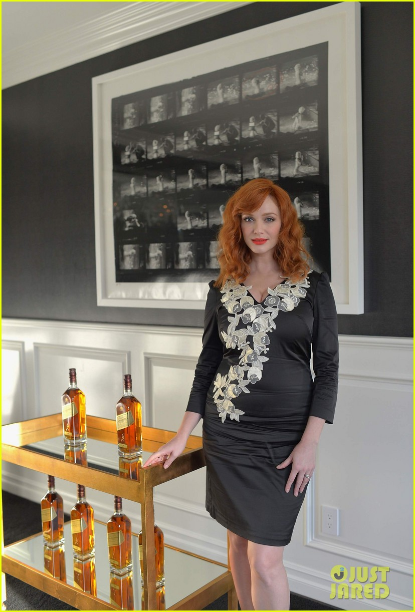 Christina hendricks in temperley london a private for Hendricks house