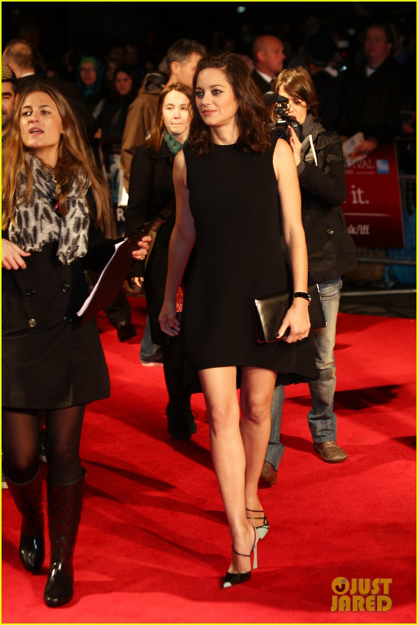 marion cotillard rust and bone london premiere 052737577